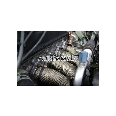 Titaninė termoizoliacija išmetimo sistemai 10m x 5cm (2mm storio) 2