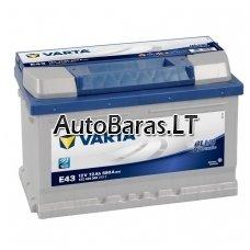 VARTA Blue 72Ah 680A akumuliatorius