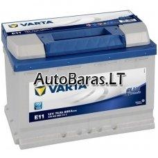 VARTA Blue 74Ah 680A akumuliatorius