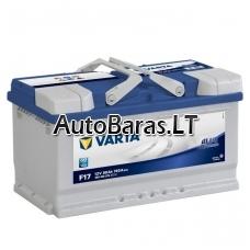 VARTA Blue 80Ah 740A akumuliatorius