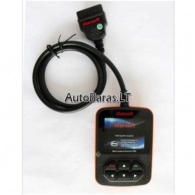 VW / AUDI / SKODA / SEAT iCarsoft i908 diagnostikos įtaisas 3