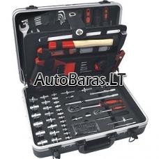 XL Įrankių rinkinys lagamine, 132dalių