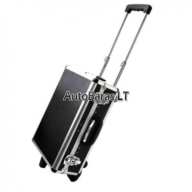 XL 126 dalių įrankiu lagaminas/vežimėlis 3