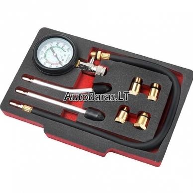 XL tools Benzininių varinklių kompresijos matavimo rinkinys
