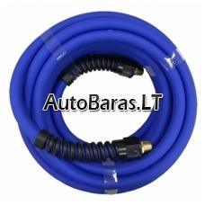 """Žarna hibridinė su išoriniais sriegiais 1/4"""" pneumatikos / oro sistemoms su apsauga nuo užlenkimo"""